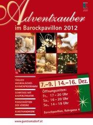 Adventzauber-Info als PDF - Guntramsdorf