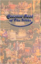Question Bank - Gurmat Veechar