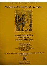 Maintaining.Your.Reh.. - Gurmat Veechar