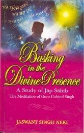 Basking in the Divine Presence A Study of Jaap ... - Gurmat Veechar