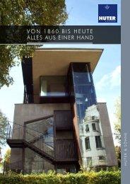 Huter & Söhne Broschuere - Allgemein