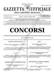 N. 11-Venerdì 8 settembre 2006- Serie Concorsi - Gazzetta Ufficiale ...