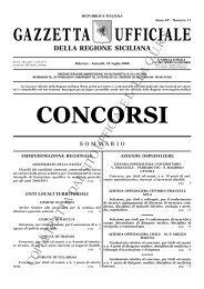 N. 11-Venerdì 25 luglio 2008- Serie Concorsi - Gazzetta Ufficiale ...