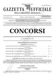 N. 11 - Venerdì 8 giugno 2012 - Serie Concorsi - Gazzetta Ufficiale ...