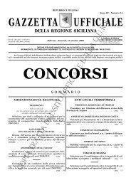 N. 16-Venerdì 31 ottobre 2008- Serie Concorsi - Gazzetta Ufficiale ...