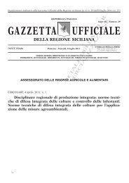 Norme tecniche di difesa integrata - Gazzetta Ufficiale della Regione ...