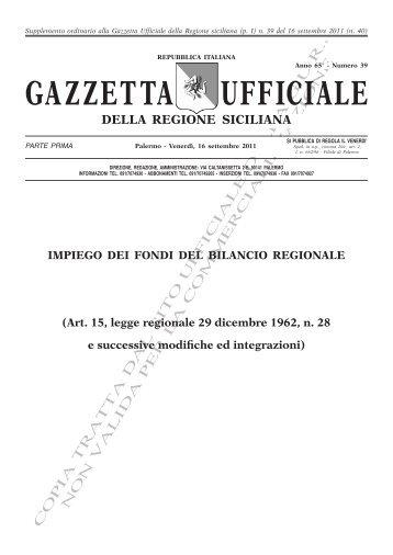 N. 39-Venerdì 16 Settembre 2011- Supplemento Ordinario (PDF)