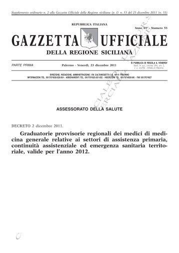 Supplemento Ordinario n.2(PDF) - Gazzetta Ufficiale della Regione ...
