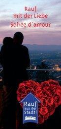 Rauf mit der Liebe Soirée d'amour - Gurten