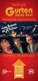 Rauf zum Konzert& Gastronomie Samstag, 28.April 2012 - Gurten