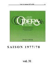 S A I S O N   1 9 7 7 / 7 8 vol. 31