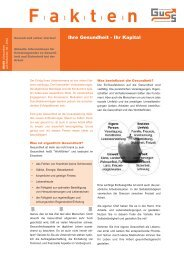 Ihre Gesundheit - Ihr Kapital - kurz und knapp (PDF 57 KB) - Guss