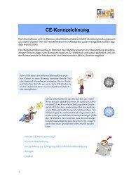 CE-Kennzeichnung - Guss