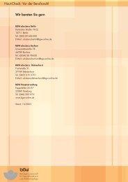 Hautcheck für Berufseinsteiger (PDF 185 KB) - Guss