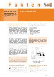Professionelles Nein gegenüber dem Kunden (PDF 466 KB) - Guss