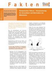Kompetentes Führen – Voraussetzung für Gesundheit und ... - Guss