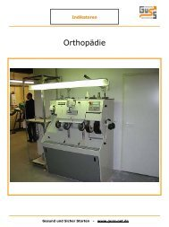 Bild Orthopädie - Guss