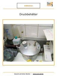 Bild Druckbehälter - Guss