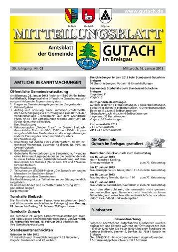 Gutach KW 03 ID 70079 - bei der Gemeinde Gutach im Breisgau