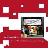 Infobroschüre zum Kasseler Marktplatz für Unternehmen und ...