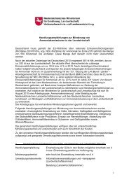 Handlungsempfehlungen zur Minderung von Ammoniakemissionen ...