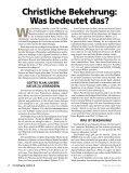 Christliche Bekehrung: Was bedeutet das? - Gute Nachrichten - Seite 2