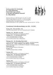 Gemeinsame Gottesdienstordnung vom 10.8 ... - Gutenzell-Hürbel
