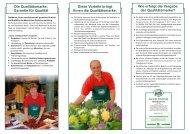 Richtlinien - Gutes vom Bauernhof