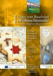 Weihnachtsmarkt - Gutes vom Bauernhof