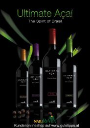 The Spirit of Brasil Kundenonlineshop auf www.gutetipps.at