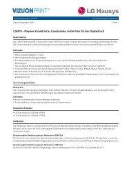 Produktdatenblatt: LD4910 - guttenberger digitaldruck