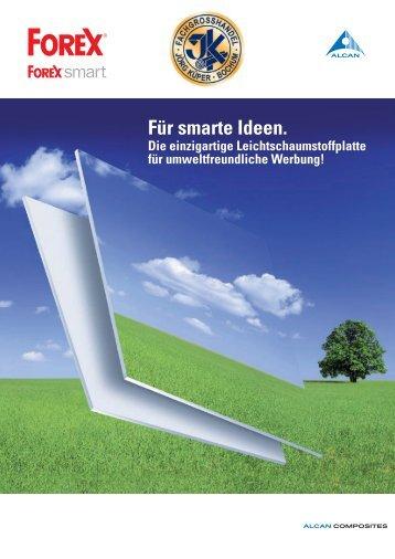 Für smarte Ideen. - Forex Platten