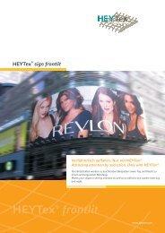 HEYTex® frontlit