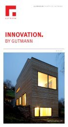 INNOVATION - Gutmann AG