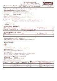 GUTTROFF proFood Bioschutz Überarbeitet: 01.03.2011