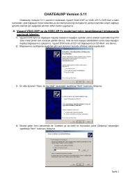 CHATEAUXP Version 5.11