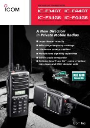 A New Direction in Private Mobile Radios