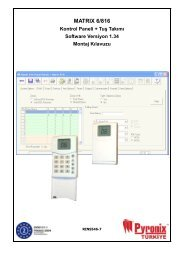 Matrix 6/816 Installation Manual
