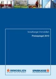 Vorarlberger Immobilien Preisspiegel 2010