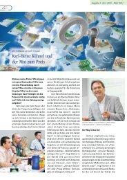 Karl-Heinz Kühnel und der Mut zum Preis - GV-Partner Akademie