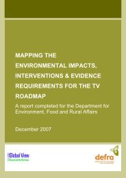 Environmental Impacts - Global View Sustainability Services