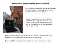 Webcam- und DMK- Aufnahmetechnik (pdf)