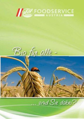 Bio - GV-Partner Foodservice Austria