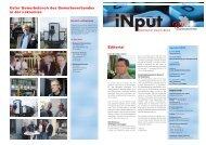 iNPUT Juni 2009 - Gewerbeverband Uster