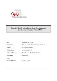 Protokoll der 28. ordentlichen Generalversammlung des ...