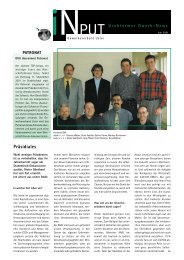 iNPUT Juni 2001 - Gewerbeverband Uster