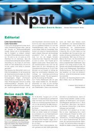 iNPUT September 2003 - Gewerbeverband Uster