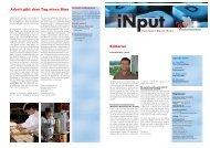 iNPUT Juni 2010 - Gewerbeverband Uster