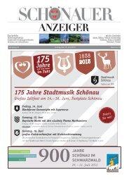 KW 24/2013 Schönauer Anzeiger - Gemeindeverwaltungsverband ...