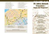 70 Jahre danach - Geschichtswerkstatt St. Georg